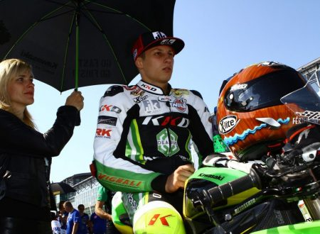 Christian Stange, from Heidenau to World Supersport by Fiat Scudo van
