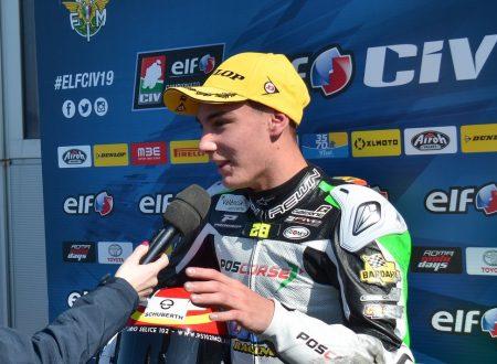 Intervista ad Adrián Carrasco, pilota spagnolo al via del CIV Moto3