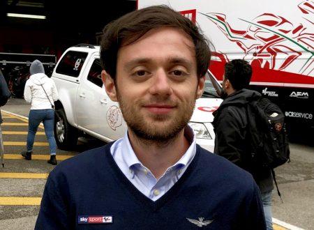 Rosario Triolo (Sky Sport MotoGP) si racconta a Palmen in Motorradsport