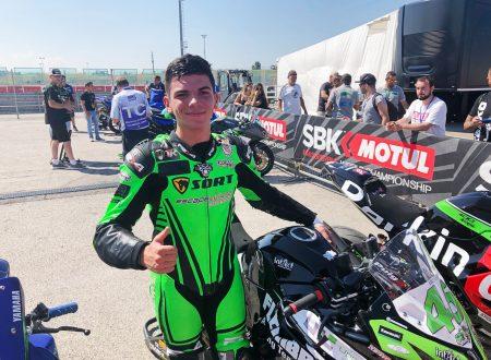 Supersport 300: I primi punti di Samuel Di Sora, pilota dei tre paesi