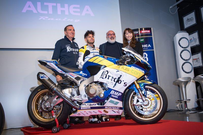 Alessandro Delbianco Althea Racing Genesio Bevilacqua