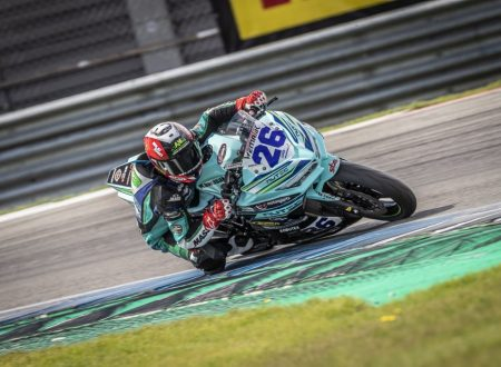 Walid Khan's fairytale in IDM Supersport 300 continues