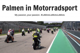 Palmen in Motorradsport